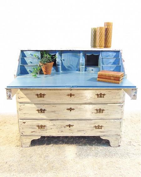 Chestdrawer Desk, Gustavian Style