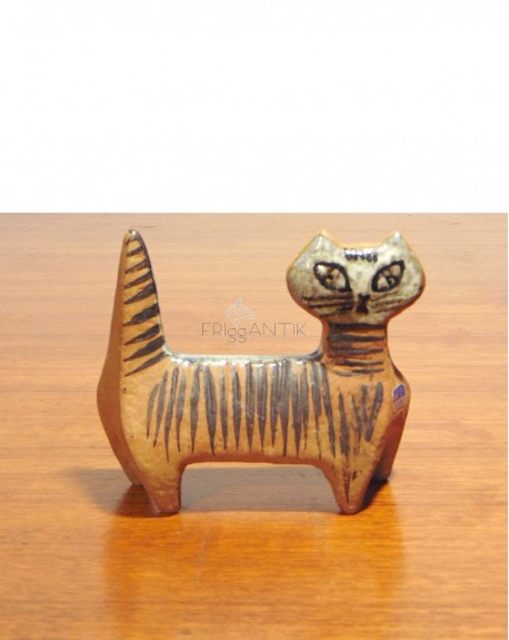 Gato Ceramica Nórdico Lisa Larsson