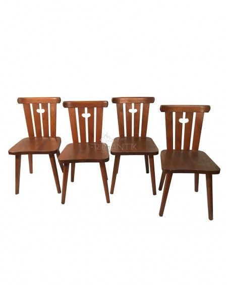 Cuatro sillas Rusticas Nórdicas