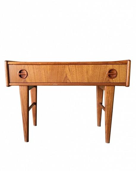 Mueble Baja Teca dos cajones