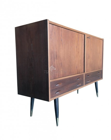 Sideboard in Teak, Sweden, 1960s