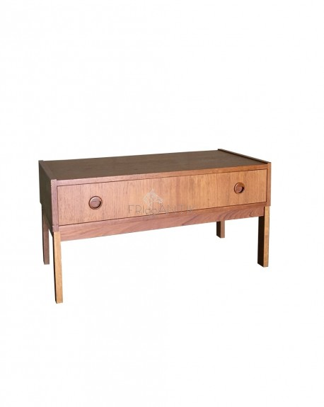 Teak Furniture with 4 Drawers, Sweden,1960s