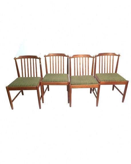 Teak Chairs, Set of 4