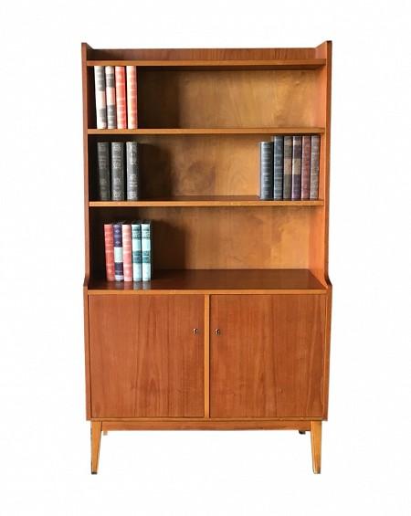 Librero estantería en Teca