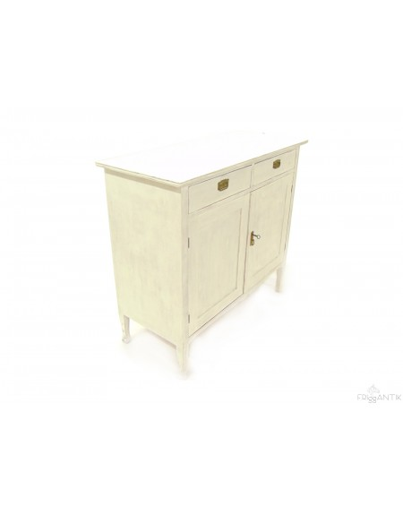 Smaller Sideboard Painted in White