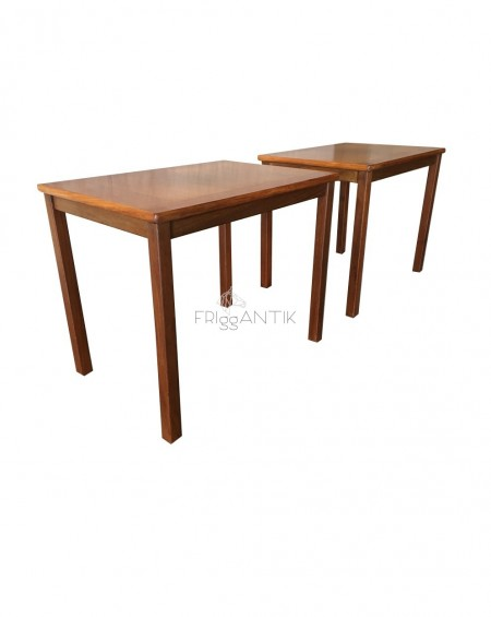 Pair of Teak Tables, Sweden