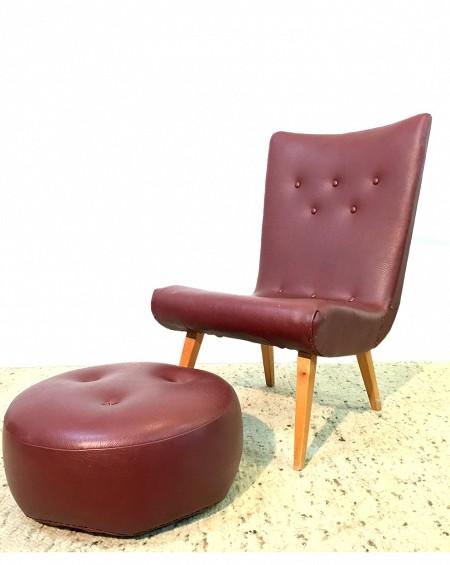 Leatherette Loungechair, Sweden