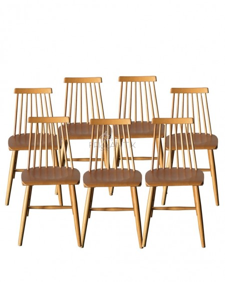 Nordic Chairs, set of 4, Hagafors, Sweden