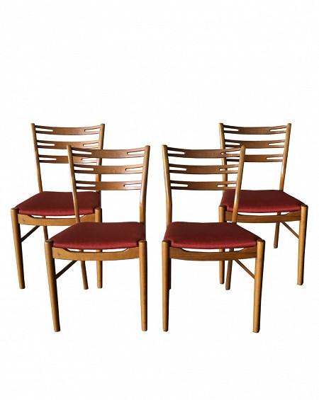 Conjunto de 4 sillas comedor estilo Escandinavo