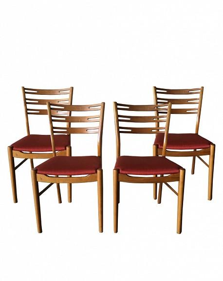 Comprar Conjunto de 4 sillas comedor estilo Escandinavo online - Tienda de  Butacas y sillas nórdicas online