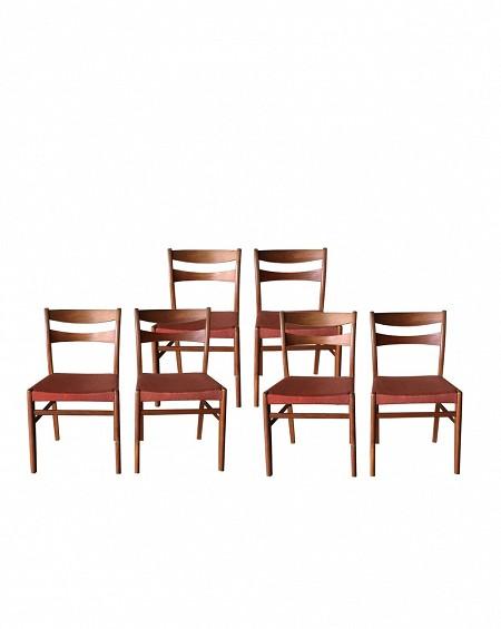 Rosewood Dining Chairs, Nils Jonsson, Troeds, Bjärnum, Sweden