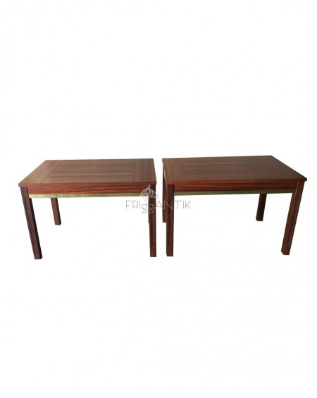 Pair of Teak Tables, Sweden