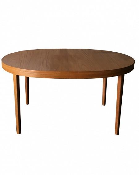 Teak Oval Dining Table, Sweden, 1960s