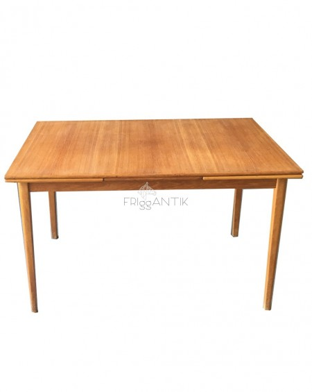 Rectangular Teak Dining Table, Sweden, 1960s