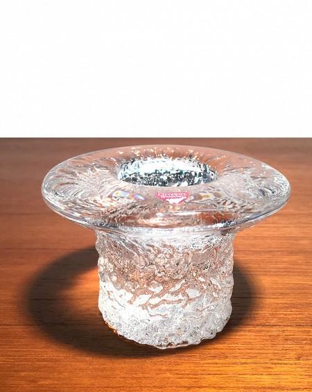Glass Candleholder, Orresfors