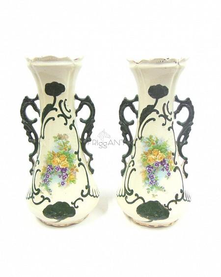 Pair of Art Nouveau Vases, Sweden