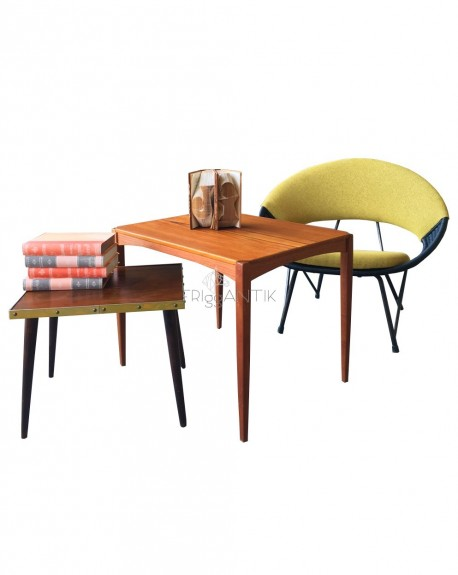 Nordic Coffee Teak Table, 1960s