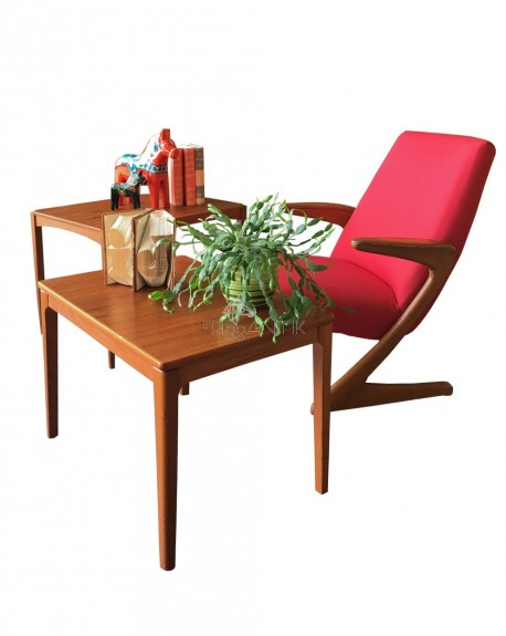 Nordic Coffee Teak Table, 1960s