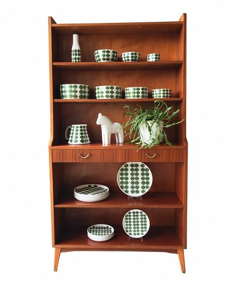 Rosewood Bookshelf, Bertil Fridhagen, Bodafors, Sweden.