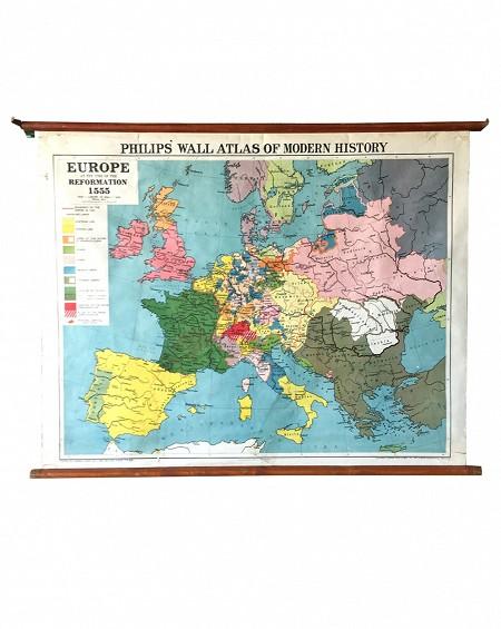 Mapa Gran Bretaña XL