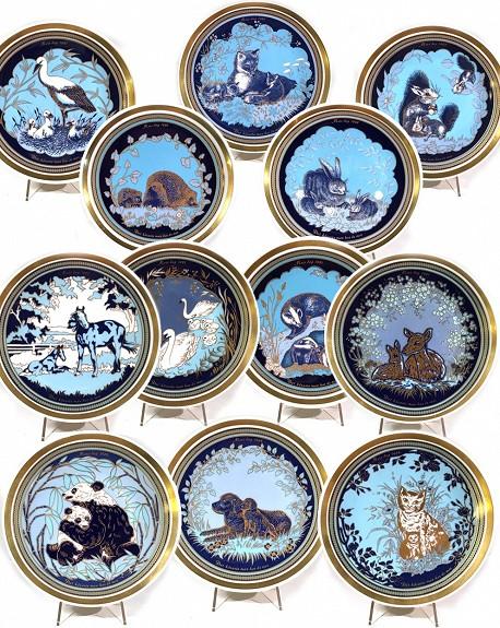 Colección de 12 Platos