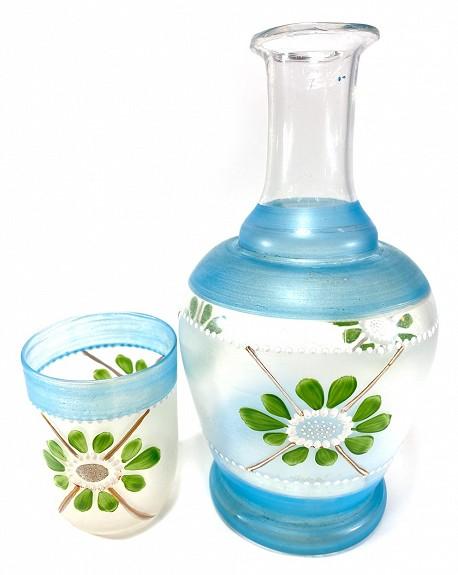 Botella de agua antigua