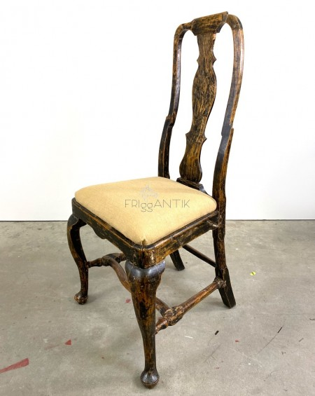 Gustavian Chair from the 18th Century, Sweden