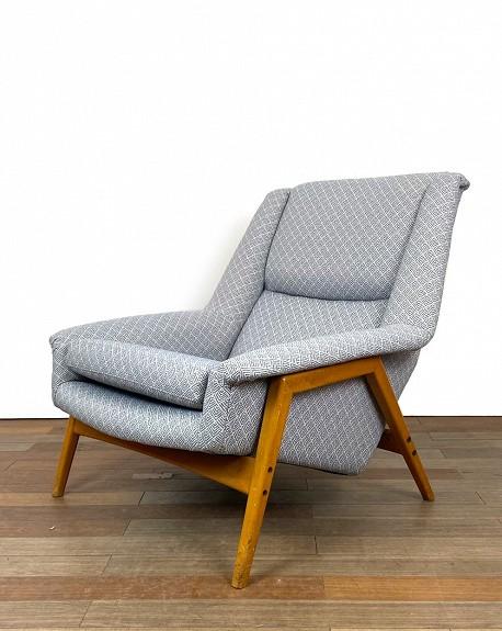 Swedish Dux Loungechair, 1960s