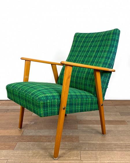 Blue Armchair, original fabric