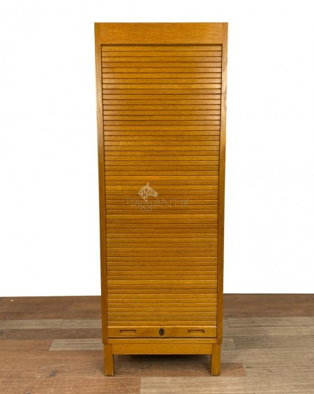 Swedish Oak Filing Cabinet, 1960s