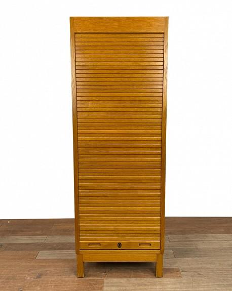Swedish Oak Filing Cabinet, 1960s