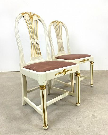 PAreja sillas Gustavianas
