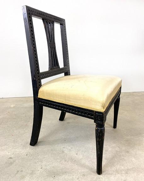Swedish Gustavian Chair, 18th Century