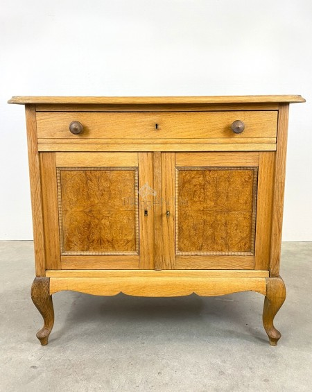 Swedish Oak Cupboard, 1920s