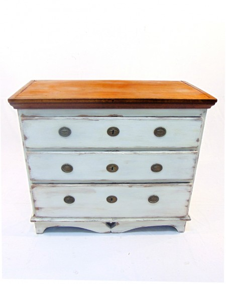 Swedish Antique Chest of Drawers, end 19th Century