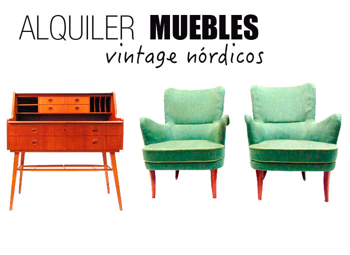 Alquiler de muebles vintage